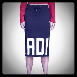 Adidas mid-length tube skirt